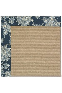 Capel Rugs Creative Concepts Sisal - Bandana Indigo (465) Rectangle 12' x 15' Area Rug