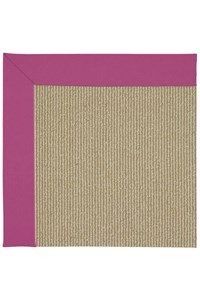 Capel Rugs Creative Concepts Sisal - Canvas Hot Pink (515) Rectangle 12' x 15' Area Rug