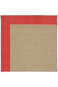 Capel Rugs Creative Concepts Sisal - Canvas Paprika (517) Rectangle 12' x 15' Area Rug