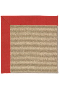 Capel Rugs Creative Concepts Sisal - Dupione Crimson (575) Rectangle 12' x 15' Area Rug