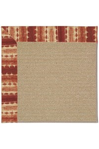 Capel Rugs Creative Concepts Sisal - Java Journey Henna (580) Rectangle 12' x 15' Area Rug