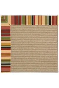 Capel Rugs Creative Concepts Sisal - Sidewalk Lacquer-Ebony (920) Rectangle 12' x 15' Area Rug