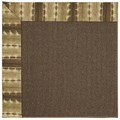 Capel Rugs Creative Concepts Java Sisal - Java Journey Chestnut (750) Octagon 4