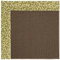 Capel Rugs Creative Concepts Java Sisal - Coral Cascade Avocado (225) Octagon 6
