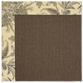 Capel Rugs Creative Concepts Java Sisal - Cayo Vista Graphic (315) Octagon 6