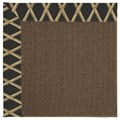 Capel Rugs Creative Concepts Java Sisal - Bamboo Coal (356) Octagon 6