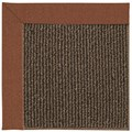 Capel Rugs Creative Concepts Java Sisal - Linen Chili (845) Octagon 6