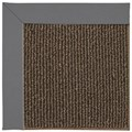 Capel Rugs Creative Concepts Java Sisal - Canvas Charcoal (355) Octagon 8