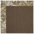 Capel Rugs Creative Concepts Java Sisal - Bahamian Breeze Ocean (420) Octagon 8