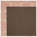 Capel Rugs Creative Concepts Java Sisal - Imogen Cherry (520) Octagon 8