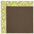 Capel Rugs Creative Concepts Java Sisal - Shoreham Kiwi (220) Octagon 10