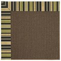 Capel Rugs Creative Concepts Java Sisal - Vera Cruz Coal (350) Octagon 10