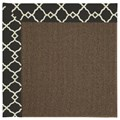 Capel Rugs Creative Concepts Java Sisal - Arden Black (346) Octagon 12