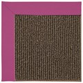 Capel Rugs Creative Concepts Java Sisal - Canvas Hot Pink (515) Octagon 12