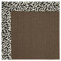 Capel Rugs Creative Concepts Java Sisal - Coral Cascade Ebony (385) Rectangle 4