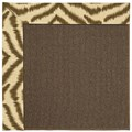 Capel Rugs Creative Concepts Java Sisal - Couture King Chestnut (756) Rectangle 4