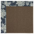 Capel Rugs Creative Concepts Java Sisal - Bandana Indigo Blue (465) Rectangle 6