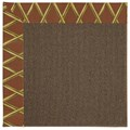 Capel Rugs Creative Concepts Java Sisal - Bamboo Cinnamon (856) Rectangle 8