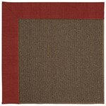 Capel Rugs Creative Concepts Java Sisal - Canvas Cherry (537) Rectangle 8' x 10' Area Rug