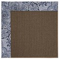 Capel Rugs Creative Concepts Java Sisal - Paddock Shawl Indigo (475) Rectangle 9