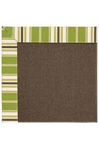 Capel Rugs Creative Concepts Java Sisal - Tux Stripe Green (214) Rectangle 12' x 15' Area Rug