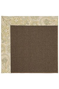Capel Rugs Creative Concepts Java Sisal - Paddock Shawl Mineral (310) Rectangle 12' x 15' Area Rug
