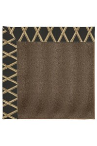 Capel Rugs Creative Concepts Java Sisal - Bamboo Coal (356) Rectangle 12' x 15' Area Rug