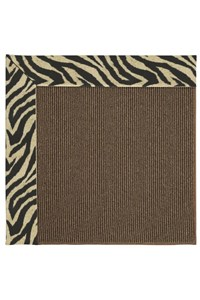 Capel Rugs Creative Concepts Java Sisal - Wild Thing Onyx (396) Rectangle 12' x 15' Area Rug
