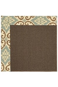 Capel Rugs Creative Concepts Java Sisal - Shoreham Spray (410) Rectangle 12' x 15' Area Rug