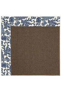 Capel Rugs Creative Concepts Java Sisal - Batik Indigo (415) Rectangle 12' x 15' Area Rug
