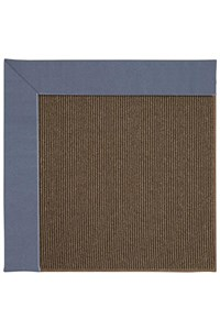 Capel Rugs Creative Concepts Java Sisal - Canvas Sapphire Blue (487) Rectangle 12' x 15' Area Rug