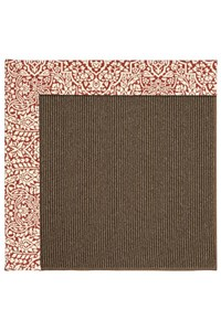 Capel Rugs Creative Concepts Java Sisal - Imogen Cherry (520) Rectangle 12' x 15' Area Rug