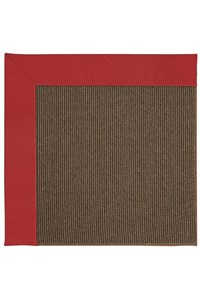 Capel Rugs Creative Concepts Java Sisal - Canvas Jockey Red (527) Rectangle 12' x 15' Area Rug