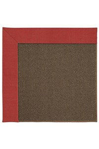 Capel Rugs Creative Concepts Java Sisal - Dupione Crimson (575) Rectangle 12' x 15' Area Rug