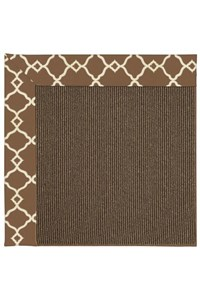 Capel Rugs Creative Concepts Java Sisal - Arden Chocolate (746) Rectangle 12' x 15' Area Rug