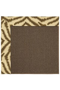 Capel Rugs Creative Concepts Java Sisal - Couture King Chestnut (756) Rectangle 12' x 15' Area Rug