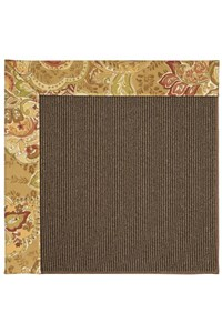Capel Rugs Creative Concepts Java Sisal - Tuscan Vine Adobe (830) Rectangle 12' x 15' Area Rug