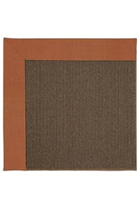 Capel Rugs Creative Concepts Java Sisal - Canvas Rust (837) Rectangle 12' x 15' Area Rug