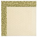 Capel Rugs Creative Concepts Sugar Mountain - Coral Cascade Avocado (225) Octagon 6