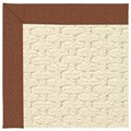 Capel Rugs Creative Concepts Sugar Mountain - Linen Chili (845) Octagon 6
