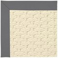 Capel Rugs Creative Concepts Sugar Mountain - Canvas Charcoal (355) Octagon 8
