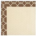 Capel Rugs Creative Concepts Sugar Mountain - Arden Chocolate (746) Octagon 8