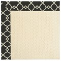Capel Rugs Creative Concepts Sugar Mountain - Arden Black (346) Octagon 12