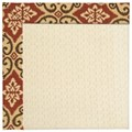 Capel Rugs Creative Concepts Sugar Mountain - Shoreham Brick (800) Rectangle 7