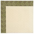 Capel Rugs Creative Concepts Sugar Mountain - Dream Weaver Marsh (211) Rectangle 8