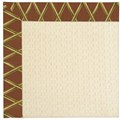 Capel Rugs Creative Concepts Sugar Mountain - Bamboo Cinnamon (856) Rectangle 8