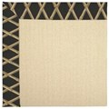 Capel Rugs Creative Concepts Beach Sisal - Bamboo Coal (356) Octagon 8