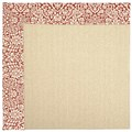 Capel Rugs Creative Concepts Beach Sisal - Imogen Cherry (520) Octagon 8