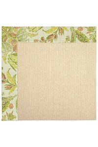 Capel Rugs Creative Concepts Beach Sisal - Cayo Vista Mojito (215) Rectangle 3' x 5' Area Rug
