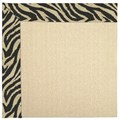 Capel Rugs Creative Concepts Beach Sisal - Wild Thing Onyx (396) Rectangle 3